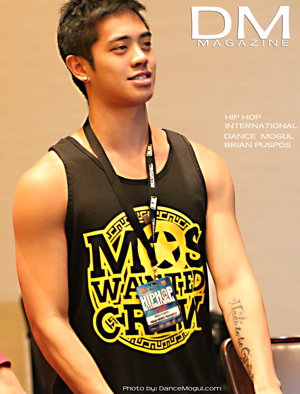 BRIAN PUSPOS  HIP HOP INTERNATIONAL  AUGUST 2012
