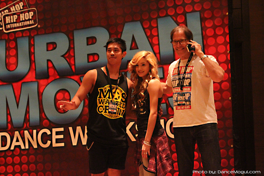 BRIAN PUSPOS, CHACHI GONZALES, HOWARD SHWARTZ HIP HOP INTERNATIONAL  AUGUST 2012