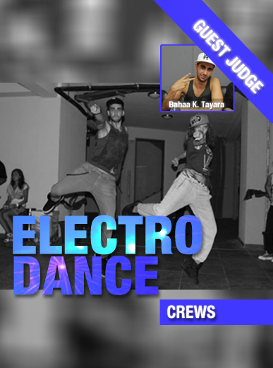 Electro Dance-Crews-Contest Poster3