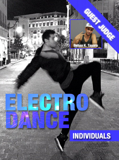 Electro Dance-Individual-Contest Poster-3