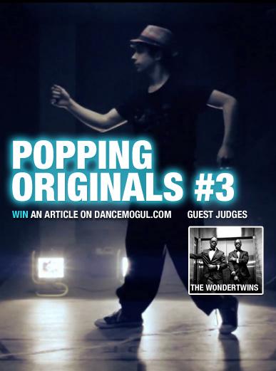Popping Originals #3_Contest Poster