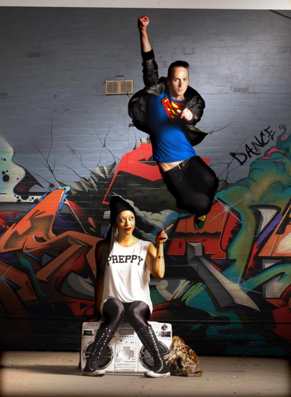 Dance Chat- Yvette Lee & Paul Malek jump