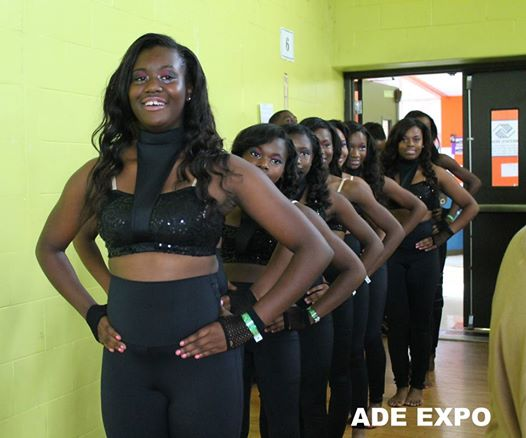 the infamous Dancerettes killed it at the ADE EXPO!