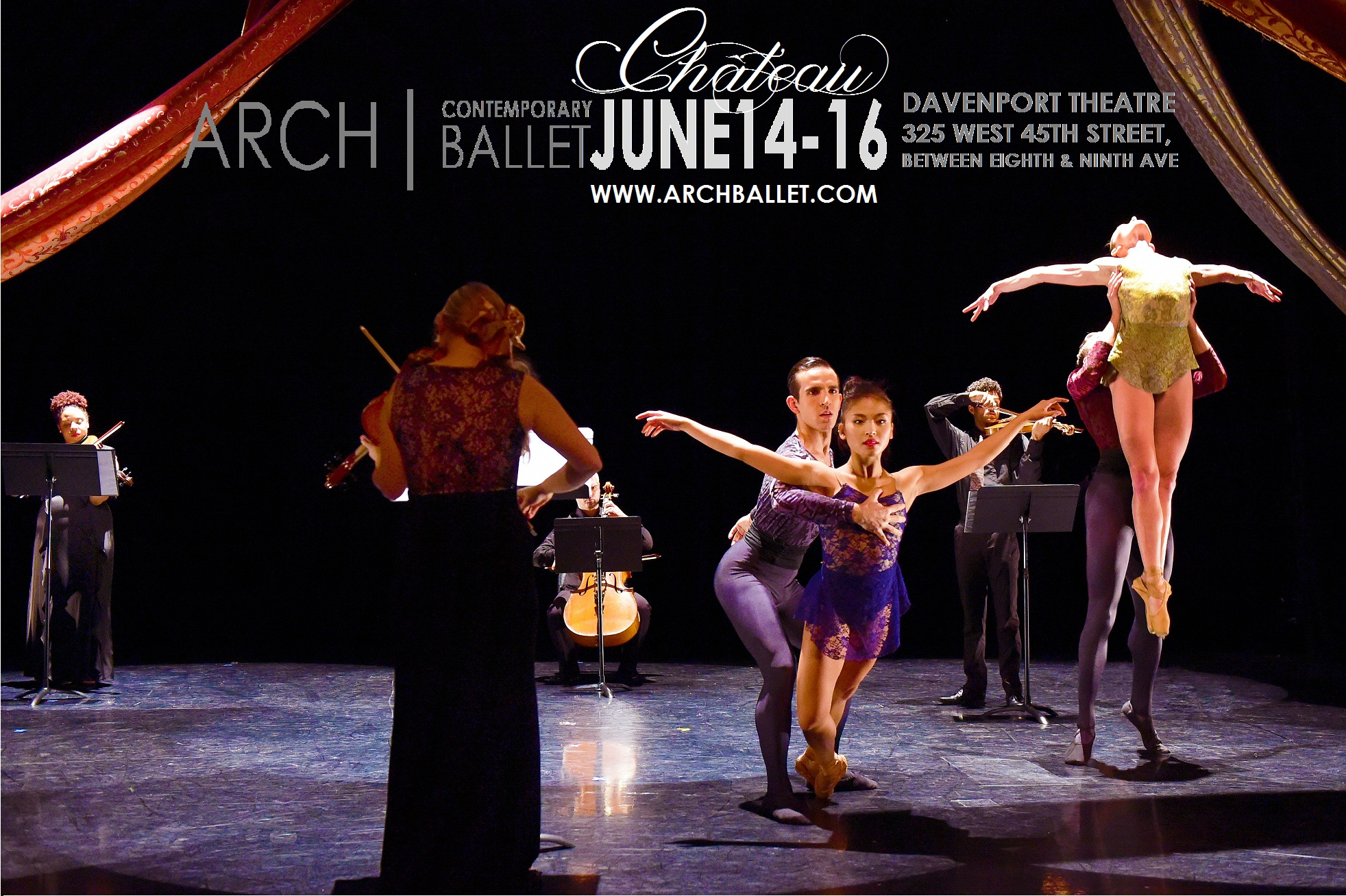 Arch Contemporary Ballet Chateau Sheena Annalise Poster 2
